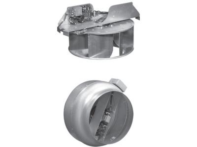 Круглые канальные вентиляторы PromVents ВК (в