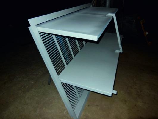 Воздухоприемные и воздухорегулирующие устройства