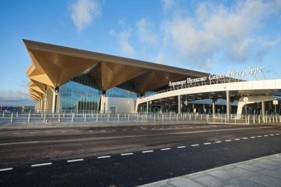 Централизованный пассажирский Терминал-1 аэропорта «Пулково», г. Санкт-Петербург