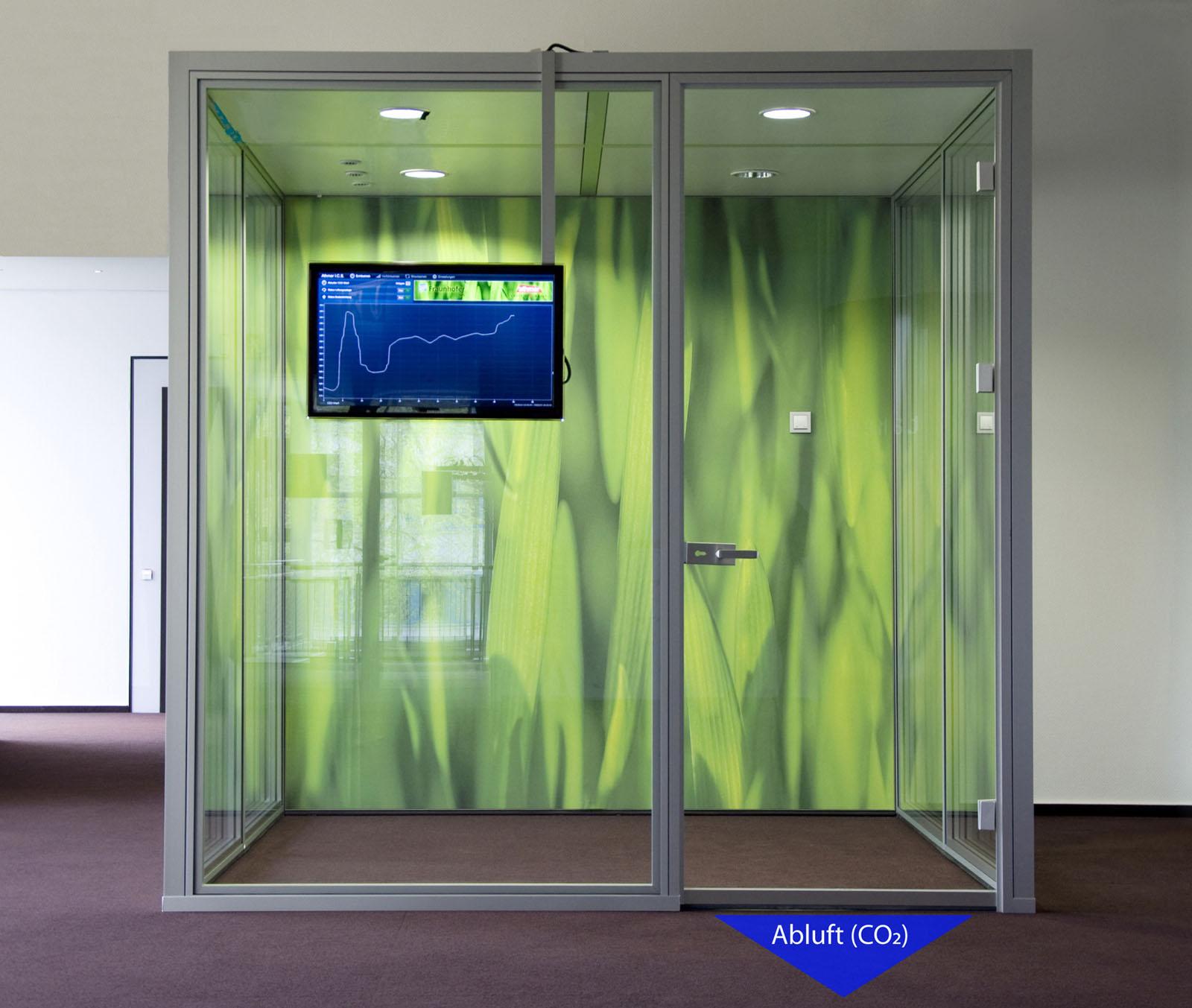 Умная дверь предотвращает конфликты в зале совещаний