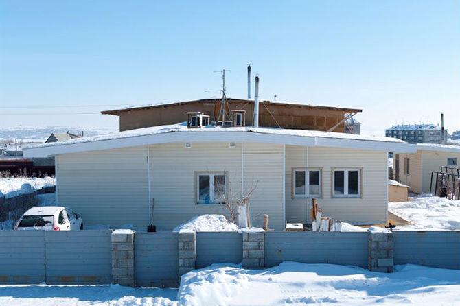 Первый энергоэффективный дом в Магнитогорске