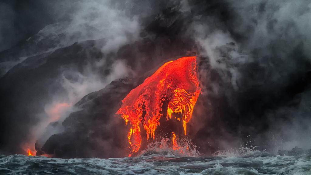 Вулканы замедляют потепление