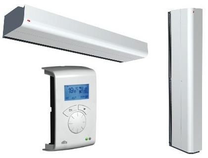Автоматика для тепловых завес