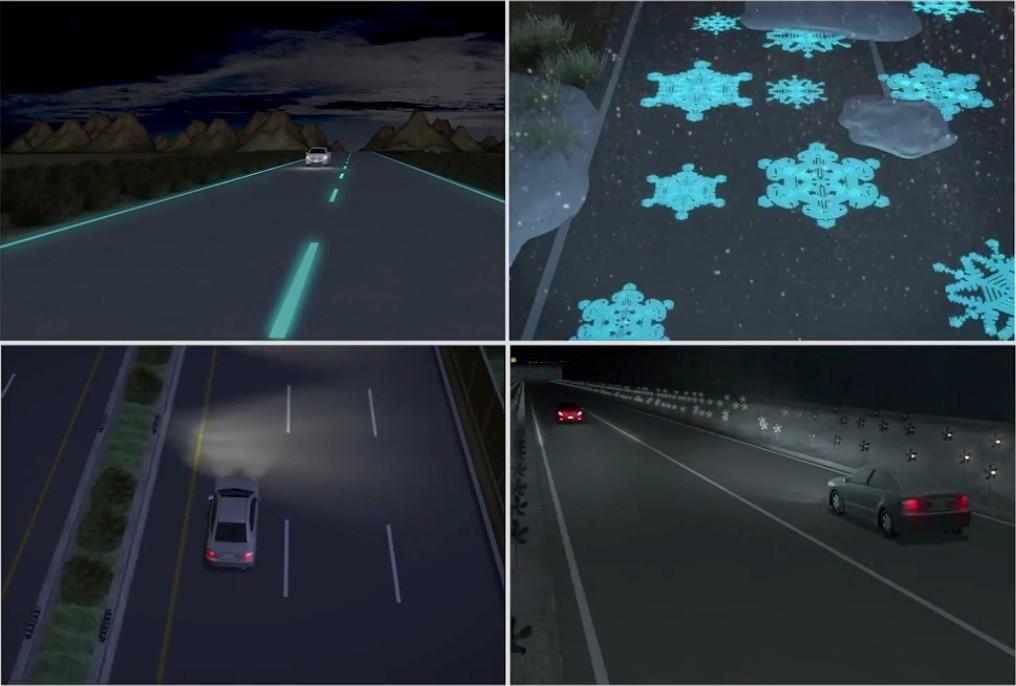 Светящиеся дороги