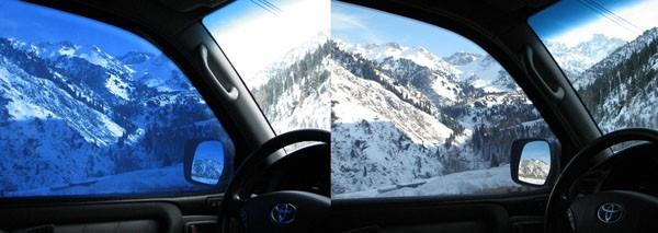 Умные стекла для автомобилей с тонировкой и солнечными батареями