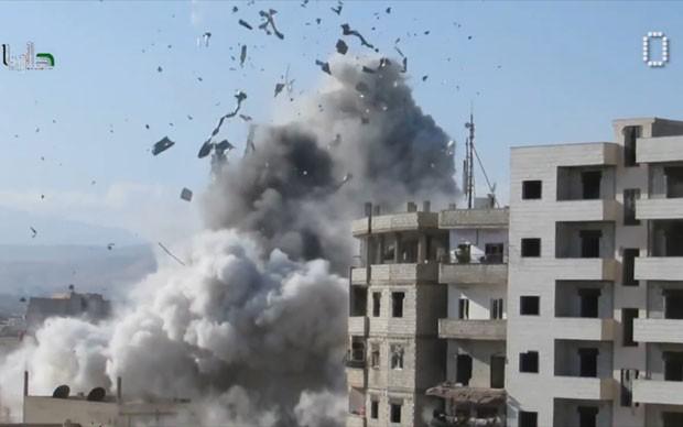 Баллоны R22 использовали в бомбах в Сирии