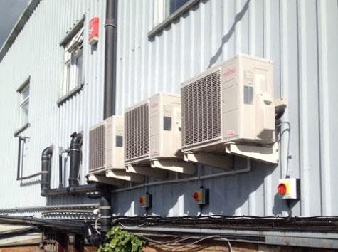 Fujitsu представил настенный кондиционер мощностью 10 кВт