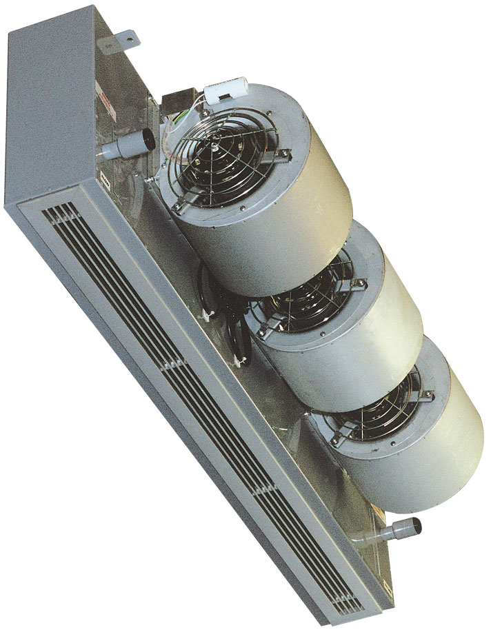 При высоте потолков 2–3 метра, на каждые 10 квадратных метров площади должно приходиться не менее 1 киловатта мощности тепловой завесы.