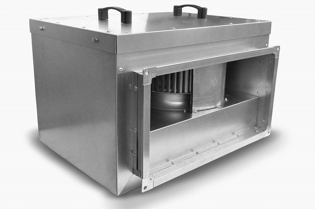 Новая бесшумная модель канального вентилятора