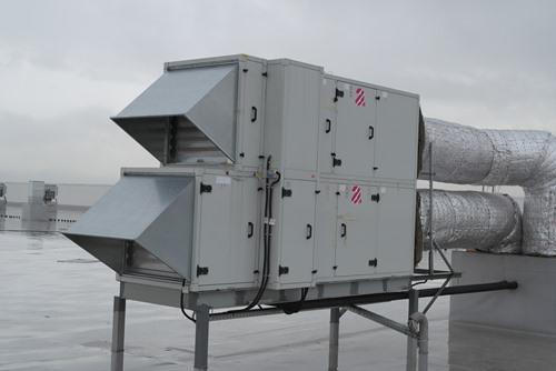 Оборудование Aircut на мультитемпературном складе X5 Ритэйл!