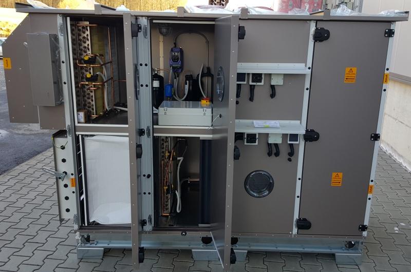 Установка Aircut со встроенной холодильной машиной