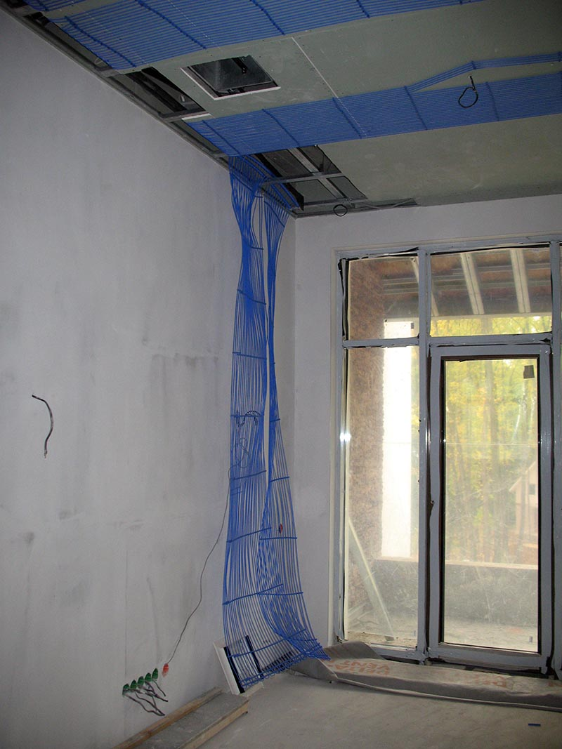 Холодные потолки в коттедже в Самаре