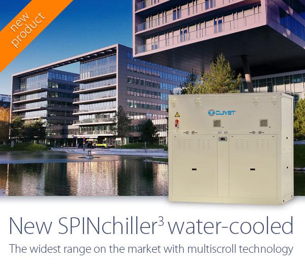 Водоохлаждаемые чиллеры третьего поколения SPINCHILLER3
