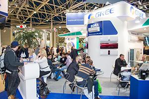 15 лет GREE в России: Евроклимат на выставке «Мир климата 2017»