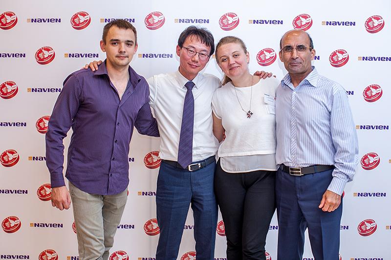 В Уфе состоялась Конференция сервисных центров Navien