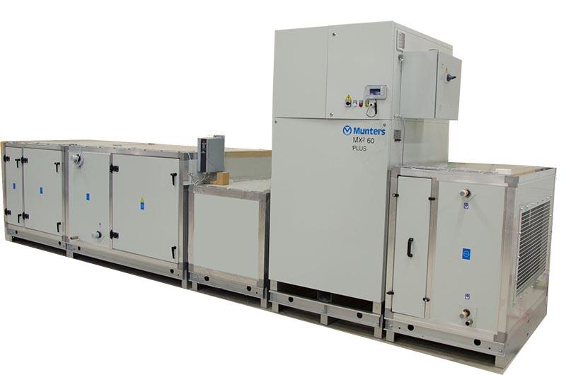 Климатическая система Munters MXІ Plus — для особо чувствительных производственных процессов