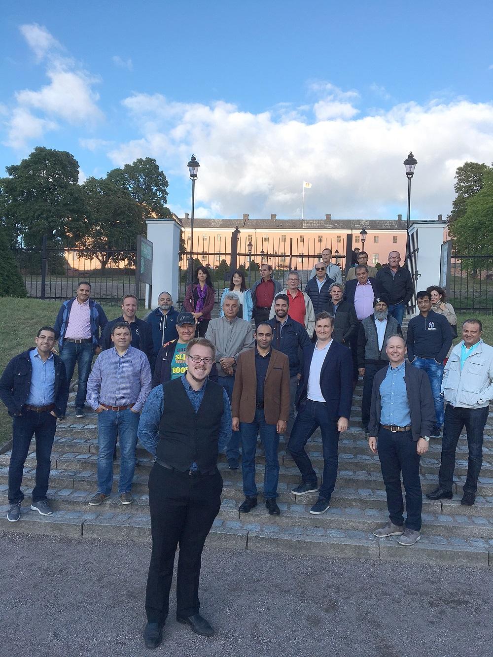Крупнейшая встреча дистрибьюторов Munters прошла в Швеции