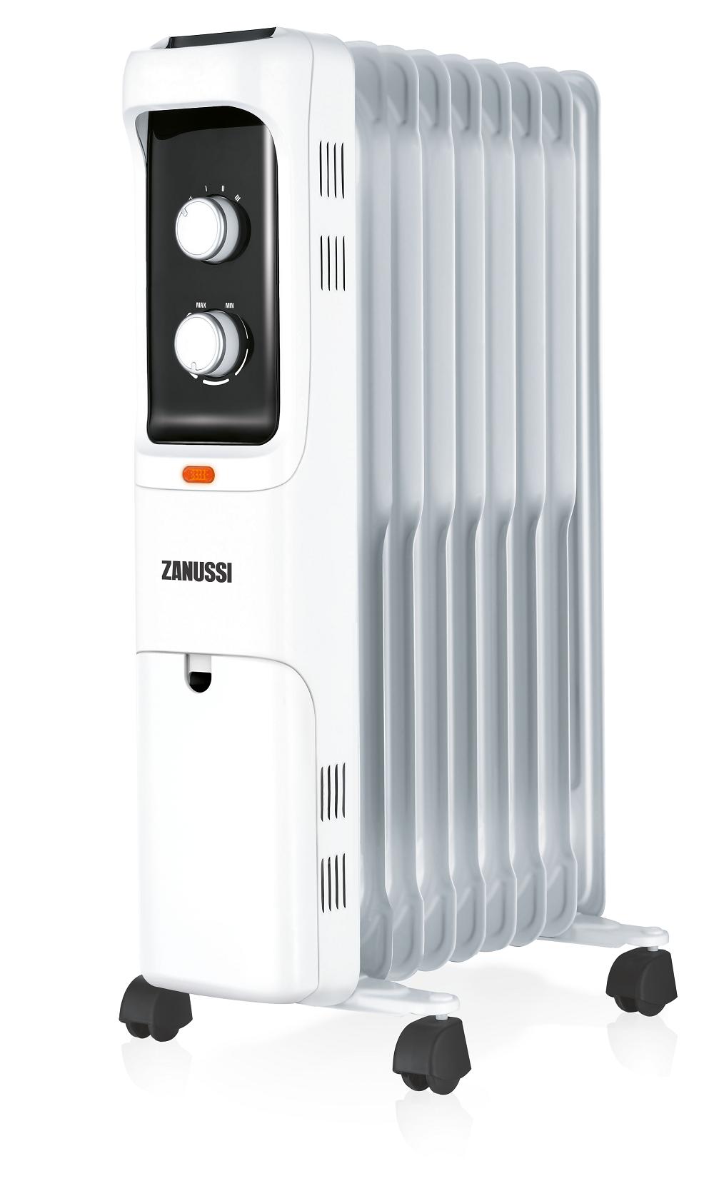 Маслонаполненный радиатор Zanussi серии LOFT — новинка отопительного сезона 2017–2018