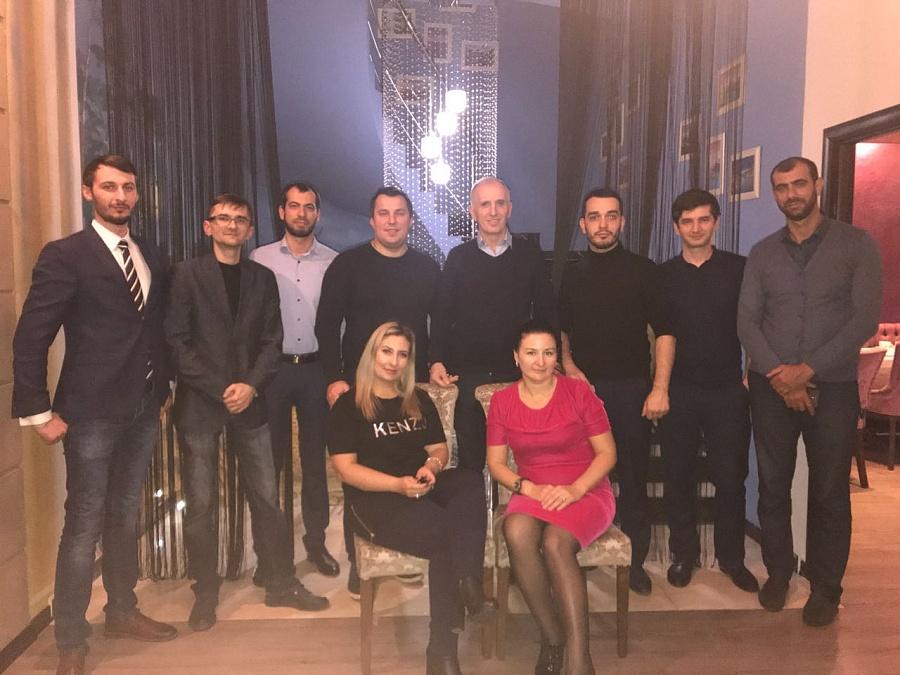 Дружеская встреча компаний SEVERCON и ЛЮКОМ