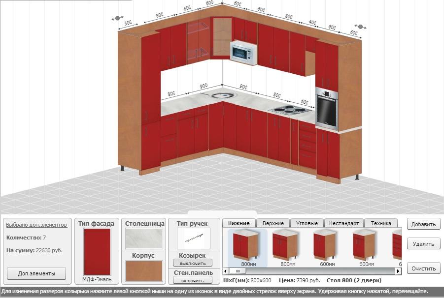 Модульные кухни – экономия денег и времени