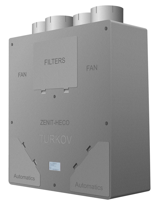 Энтальпийный рекуператор в приточно-вытяжных установках