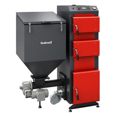 Автоматический угольный котел Galmet DUO 50 кВт