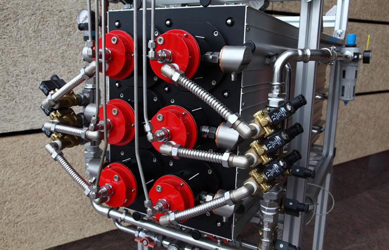Водородный котел производства компании Giacomini S.p.A.